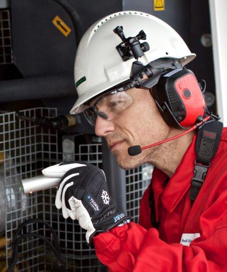 Intrinsically Safe Camera Orbit X Bartec testing with hand gloves