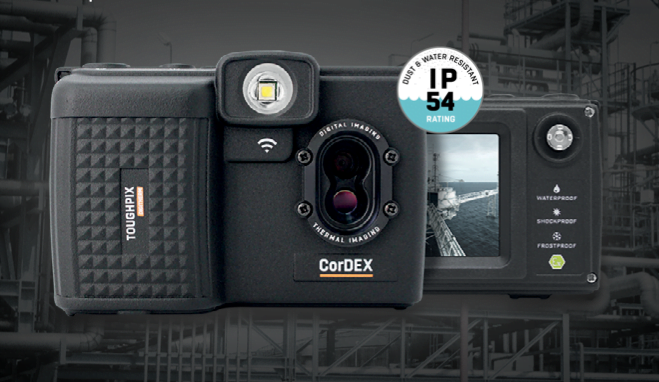 Intrinsically Safe Camera ToughPix DigiTherm TP3rEx CorDEX Thermal Image