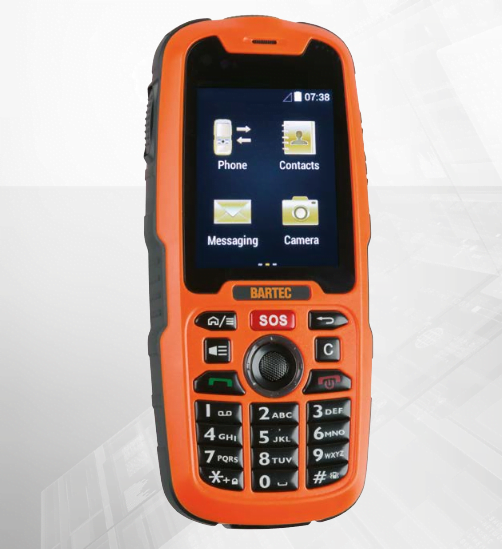 Intrinsically Safe Cell Phone Bartec Mobile X - Intrinsically Safe Store 1a1179eee