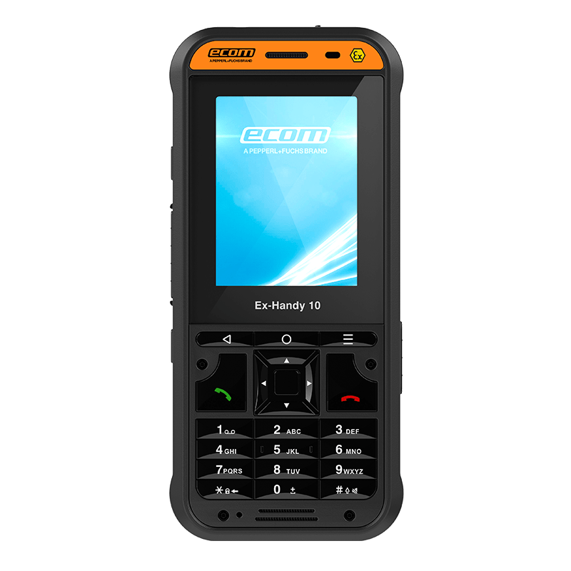 Intrinsically Safe Cell Phone Ecom Ex-Handy 10 DZ2