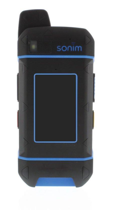 Intrinsically Safe Cell Phone Ex-Handy 09 Ecom Back View