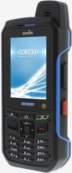 Intrinsically Safe Cell Phone Ex-Handy 09 Ecom Front Side View