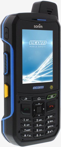 Intrinsically Safe Cell Phone Ex-Handy 09 Ecom Side Front View with Buttons