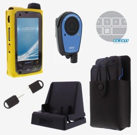 Intrinsically Safe Cell Phone FLIR EBX Series Ecom Accessories