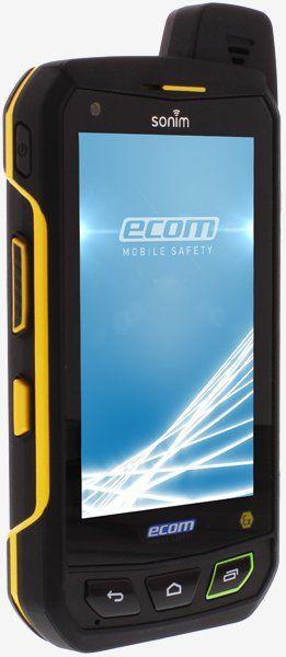 Intrinsically Safe Cell Phone FLIR EBX Series Ecom Side View