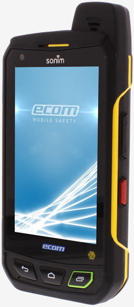 Intrinsically Safe Cell Phone FLIR EBX Series Ecom View on the Side
