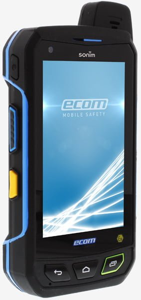 Intrinsically Safe Cell Phone Smart-Ex 01 Ecom Front View