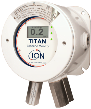 Intrinsically-Safe-Fixed-Benzene-Detector-Ion-Science-Titan-ATEX-certified