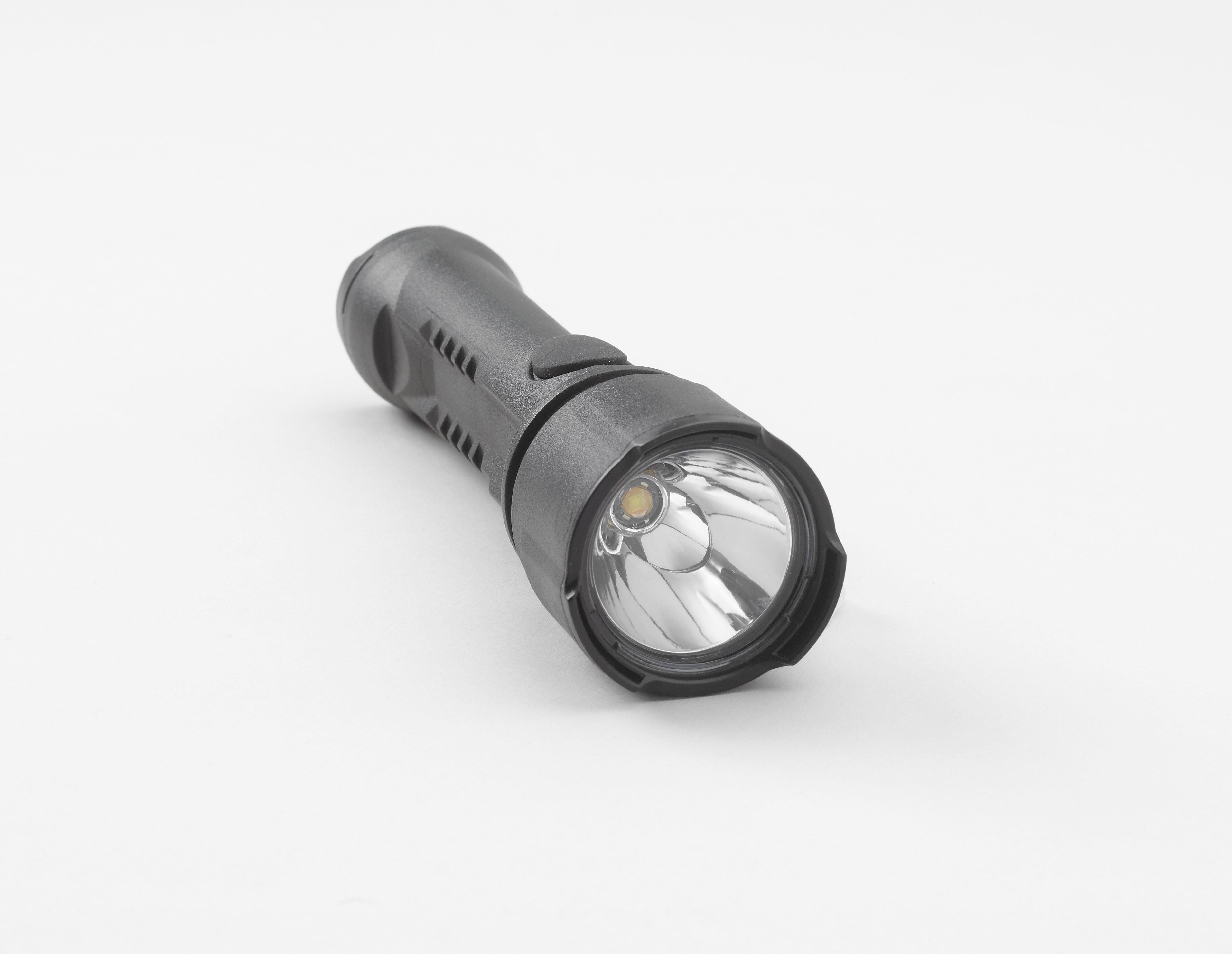 Intrinsically Safe Flashlight Koehler Brightstar Razor LED 60100 Front View