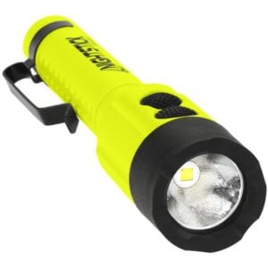 Intrinsically Safe Flashlight Nightstick XPP-5414GX-K01 Front View flashlight