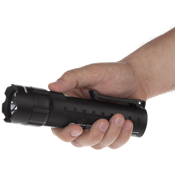 Intrinsically Safe Flashlight Nightstick XPP-5420B Image on hand Flashlight