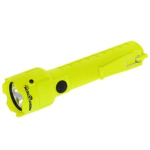 Intrinsically Safe Flashlight Nightstick XPP-5420G Side View with Switch Flashlight