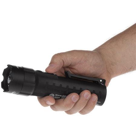 Intrinsically Safe Flashlight Nightstick XPP-5422B Actual Size of Flashlight
