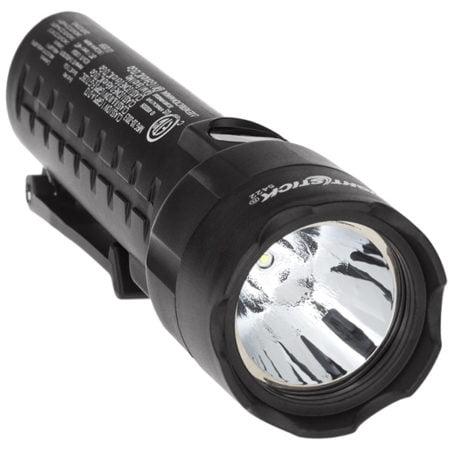 Intrinsically Safe Flashlight Nightstick XPP-5422B Front View Flashlight