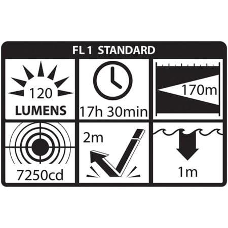 Intrinsically Safe Flashlight NightStick XPP-5422G standard