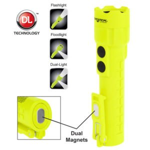 Intrinsically Safe Flashlight NightStick XPP-5422GM with magnets