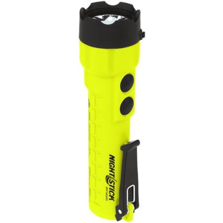 Intrinsically Safe Flashlight NightStick XPP-5422GX close up lighting