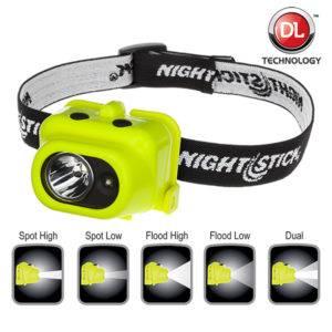 Intrinsically Safe Flashlight NightStick XPP-5454G flood light beam