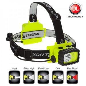Intrinsically Safe Flashlight NightStick XPP-5456G dual light