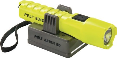 Intrinsically Safe Flashlight Peli 3315RZ0 Image 2 of flashlight