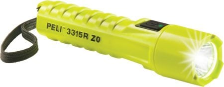 Intrinsically Safe Flashlight Peli 3315RZ0 Main Image of Flashlight