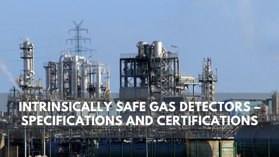 Intrinsically Safe Gas Detectors