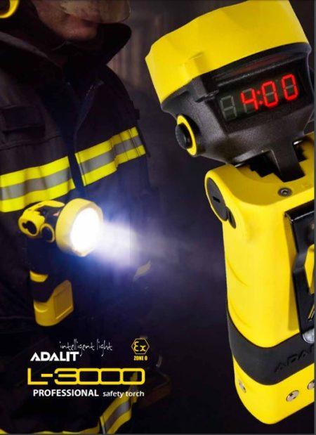Intrinsically Safe Handlamps ATEX Adaro Adalit L-3000 12V set professional