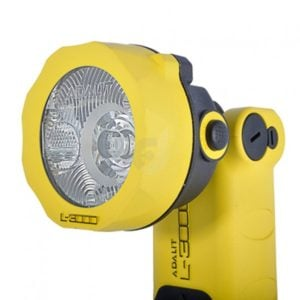 Intrinsically safe handlamps ATEX Adaro Adalit L-3000 spare handlamp safety torch