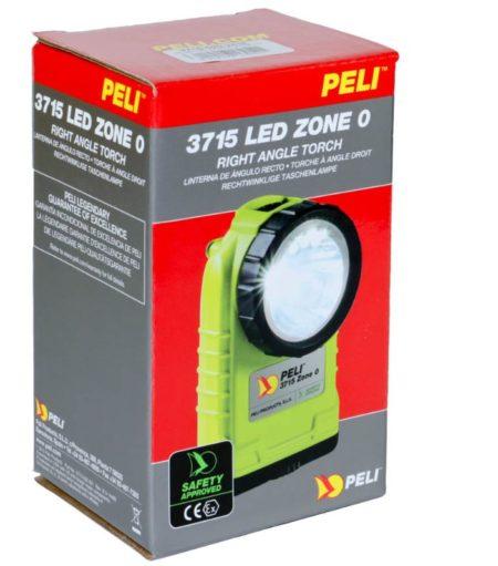 Intrinsically Safe Handlamps Peli 3715 LED Z0 safety approved