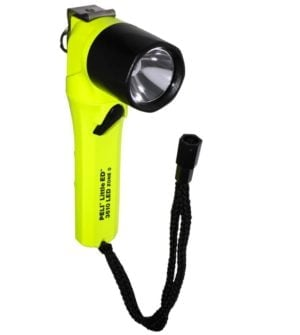 Intrinsically Safe Handlamps Peli Little Ed 3610 Z0 Yellow water resistant