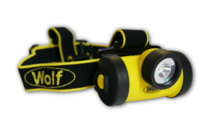 Intrinsically Safe Headlamps Wolf HT-650 LED Head Torch yellow