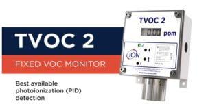Intrinsically safe TVOC 2 fixed PID Detector