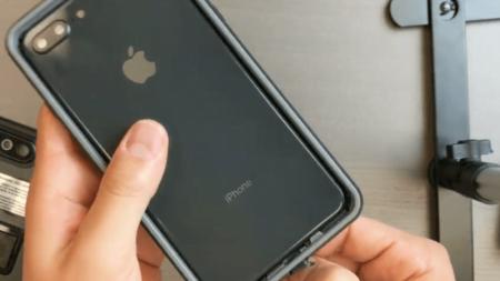 Intrinsically safe iPhone 8 Plus Case ATEX Zone 2 Back
