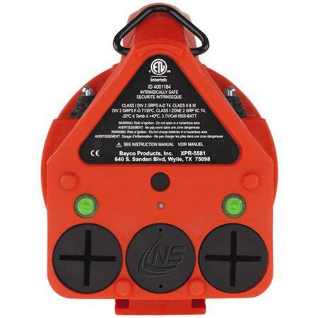 Intrinsically-Safe-Lantern-NightStick-VIRIBUS-XPR-5581RX-Straight-On-Back