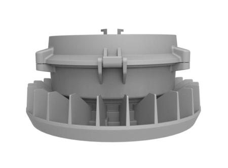 Intrinsically-Safe-LED-Area-Light-65-Watt-NICOR-XPR1B065U50GRM-Eres-Multi-Mount-aluminum-housing.png