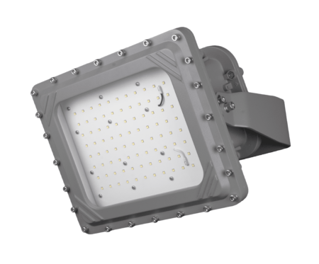 Intrinsically Safe LED Flood Light 100 Watt LED NICOR - XPQ1B100U50GRP Titan
