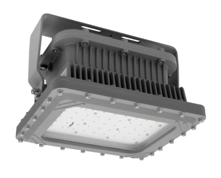 Intrinsically Safe LED Flood Light 100 Watt LED NICOR - XPQ1B100U50GRP Titan explosion proof