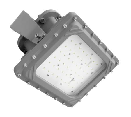 Intrinsically Safe LED Flood Light 150 Watt LED NICOR - XPQ1A150U50GRP Titan hazardous location