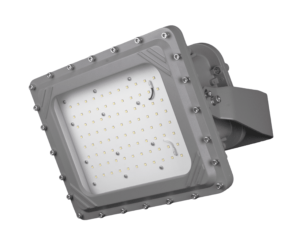 Intrinsically Safe LED Flood Light 80 Watt LED NICOR - XPQ1B080U50GRP Titan explosion proof