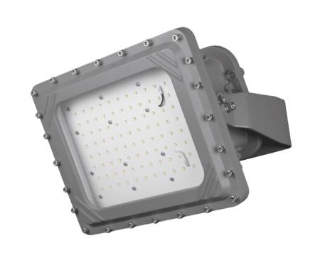 Intrinsically Safe LED Flood Light 80 Watt LED NICOR - XPQ1B080U50GRP Titan explosion proof