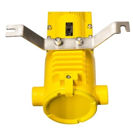 Intrinsically Safe Light Explosion Proof LED AEDL618a – 40W AE Light bottom view with the bracket