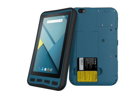 Intrinsically Safe Lumen X7 Tablet Bartec Front and Back