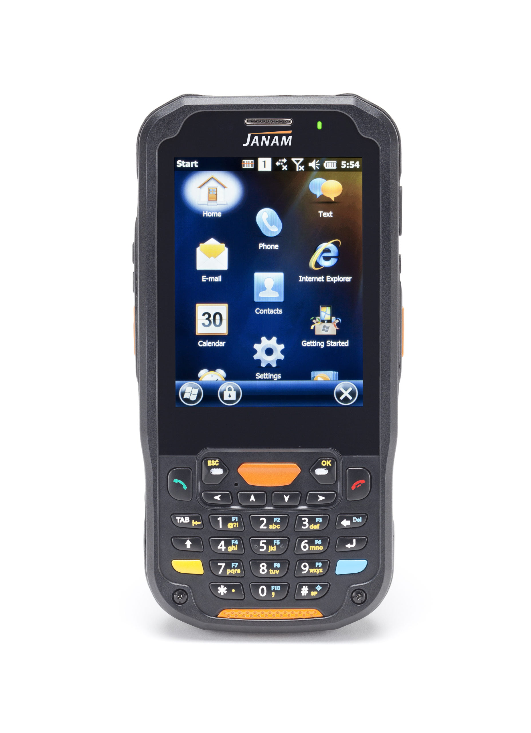 Intrinsically-Safe-Mobile-Computer-Janam-XM5-Windows-Embedded-Handheld-6.5-With-Numerical-Keypad
