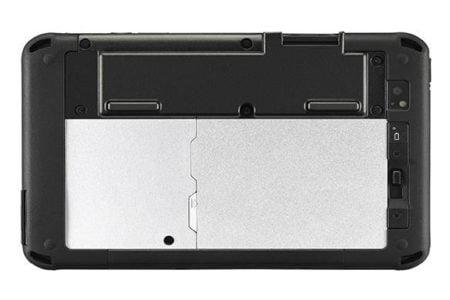 Intrinsically Safe Panasonic Tablet FZ-M1 Back View