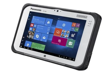 Intrinsically Safe Panasonic Tablet FZ-M1 View the Other Side
