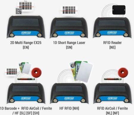 Intrinsically Safe Scanner RFID Reader Ident-Ex 01 2D Multi-Range Scanner