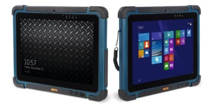 Intrinsically Safe Tablet Agile X Bartec Screen and Apps