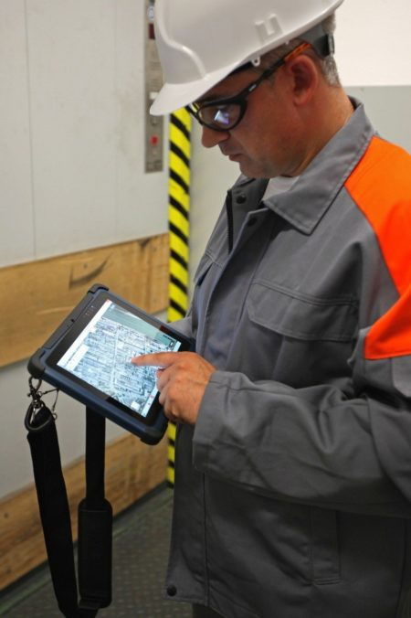 Intrinsically Safe Tablet Agile X Bartec Touch Screen