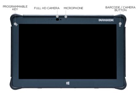 Intrinsically Safe Tablet Durabook R11 Front