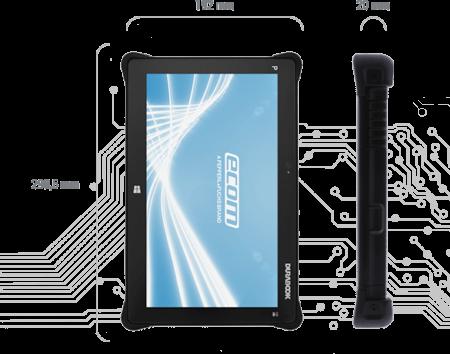 Intrinsically Safe Tablet Ecom Pad-Ex 01 HR D2 Technical Specs